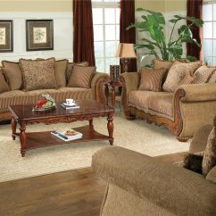 Ashley Leather Sofas And Loveseats Houzz Modern Traditional Chenille Living Room Savonna U140 Light Brown