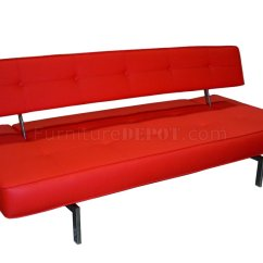 J M Paquet Sofa What To Know Before Buying A Sectional K18 Bed In Red Leatherette By Andm
