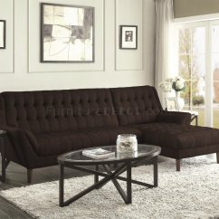 Natalia Leather And Chenille Sofa Sectional Ottoman Set 503778 In Black Fabric By Coaster