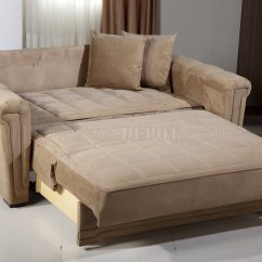Small Sofa Bed Without Arms White Leather Sectional Decorating Ideas Dark Beige Microfiber Modern Convertible Loveseat W