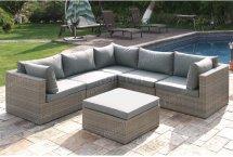 Outdoor Patio Sectional Sofa