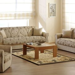 Sofa Materials Bangalore Cat Friendly Opinioni Melody Yasemin Sleeper In Beige Chenille By Sunset Fabric Living Room W Storage