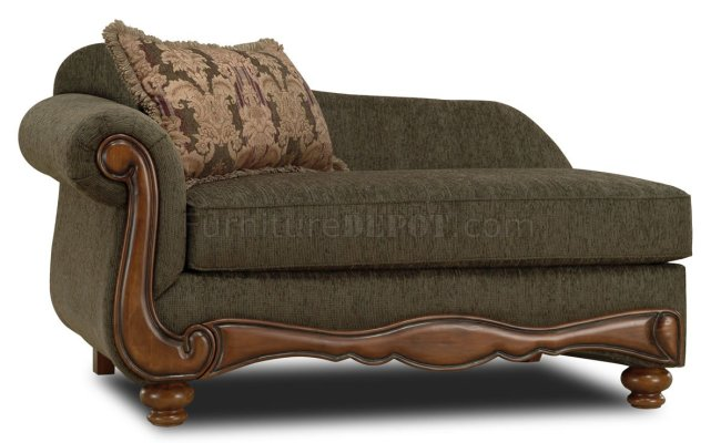 Pine Fabric Traditional Sofa Loveseat Set W Rolled Arms