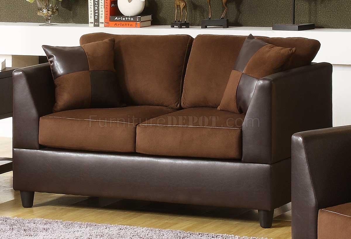 dark brown microfiber sofa chester bed tesco chocolate rhino and bi cast w options