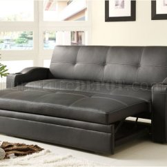 Sofa Lounger With Pull Out Bed Benchcraft Masoli Novak Elegant 4803blk By Homelegance W/pull ...