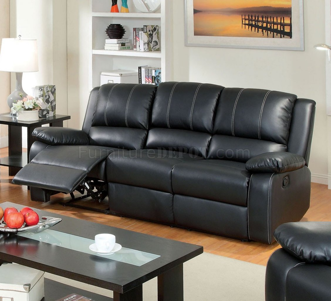 valencia black recliner leather sofa olympus brown corner bed with storage gaffey reclining cm6826 in match w options