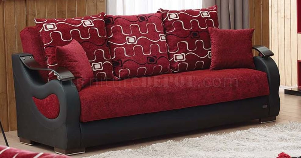 empire furniture sofa best bed topper pittsburgh in beige red by w options