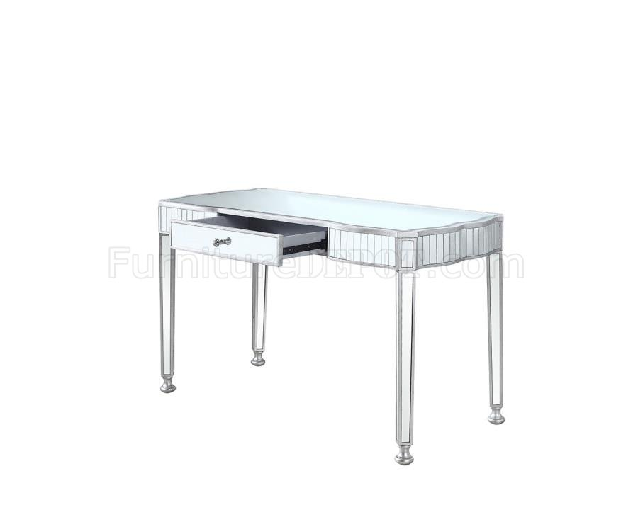 Office Writing Desk 801671 in Antique Silver by Coaster
