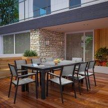 maine 9 piece outdoor patio dining