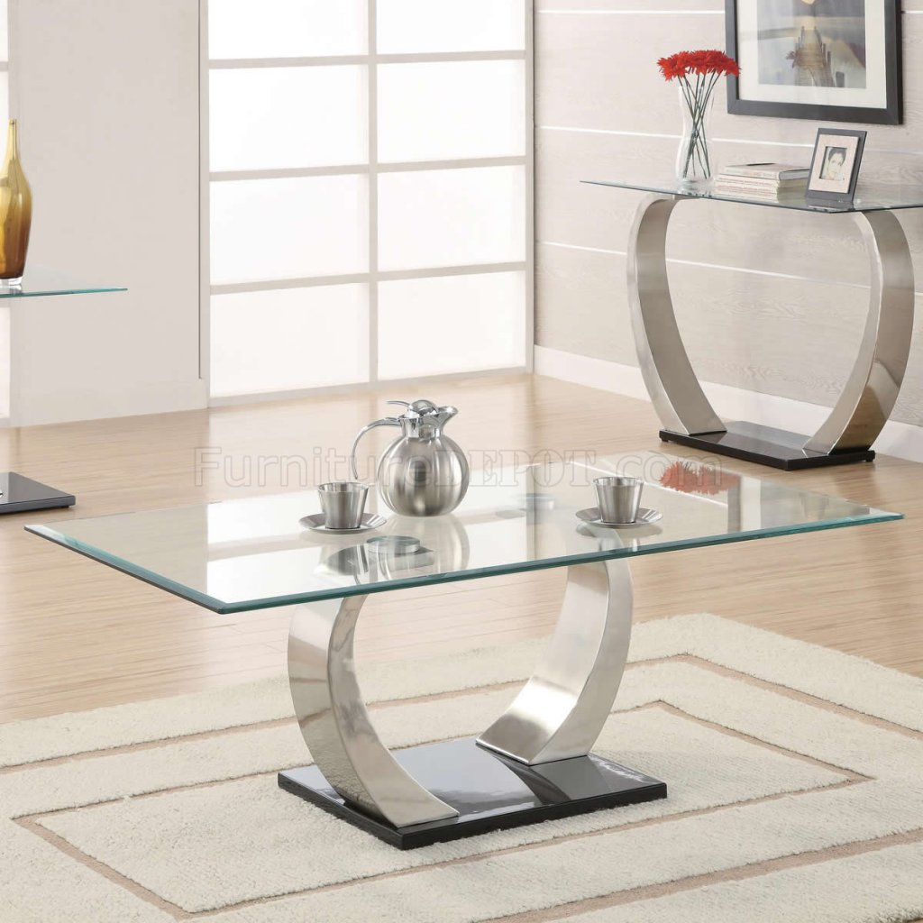 sofa set glass table low profile sofas top and curved metal legs modern coffee w options