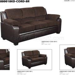 Corduroy Fabric Sofa Urban Home Landon U880018 And Chair In By Global W Options
