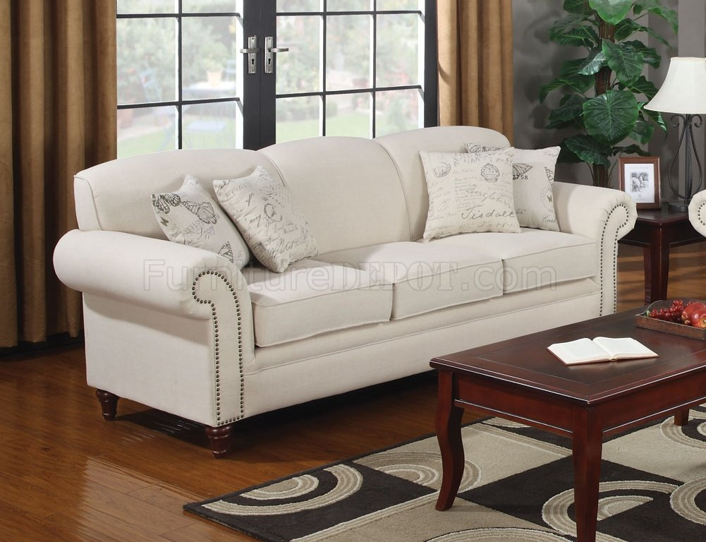 oatmeal sofa set entertainment clg wiki norah 502511 in fabric by coaster w/options