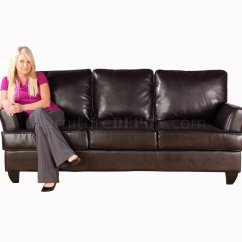 Modern Cabriole Sofa Collect My Free Chocolate Leatherette And Loveseat Set W Options