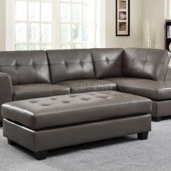 Grey Leather Sofas And Chairs Oversized Sofa Throw Covers Springer Sectional 9688 In By Homelegance W Options