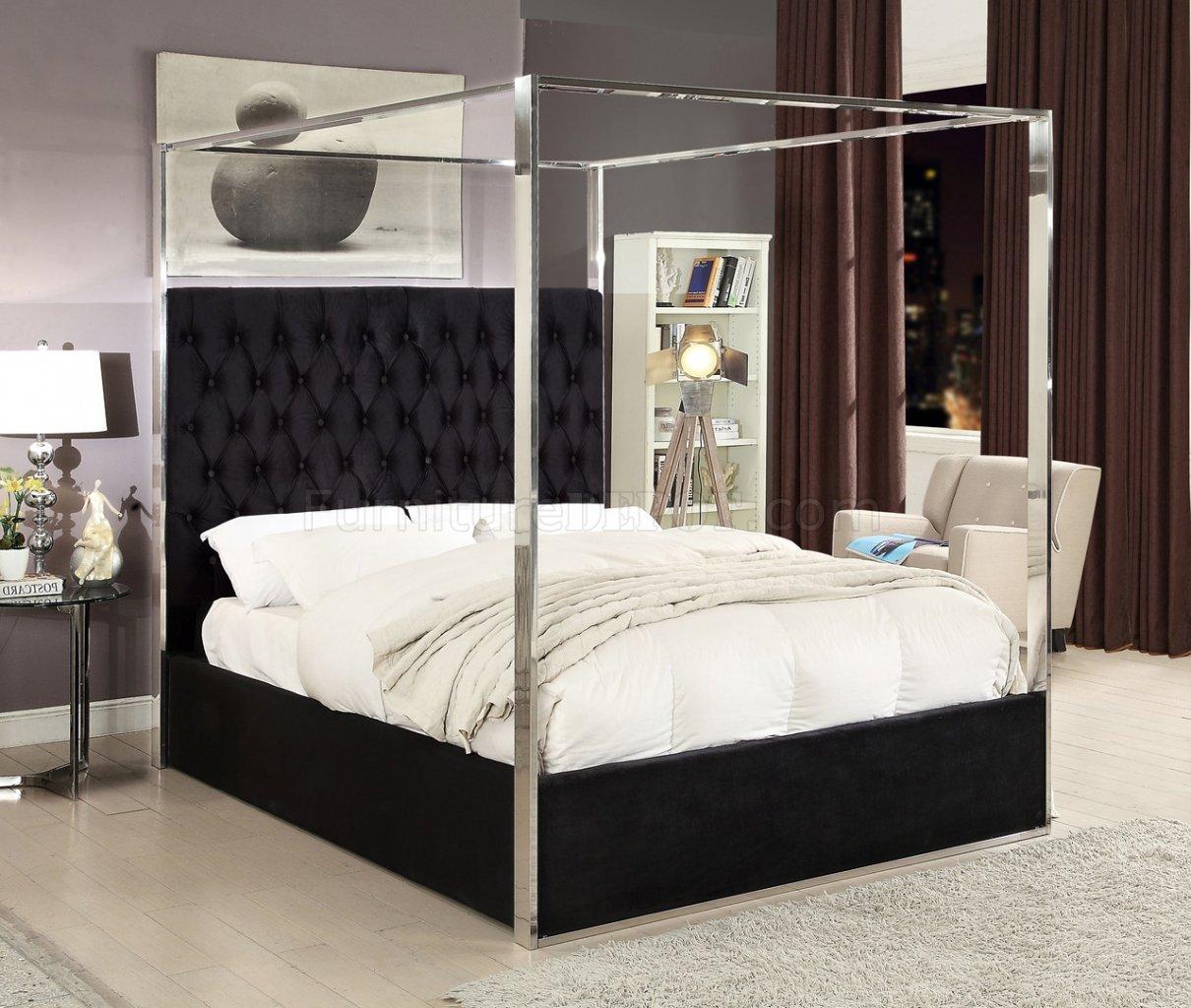 46 deep sofa suede corner bed porter upholstered in black velvet fabric by meridian