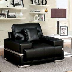 Leatherette Sofa Durability Comfortable Bed Mattress Zibak Cm6411bk In Black W Options