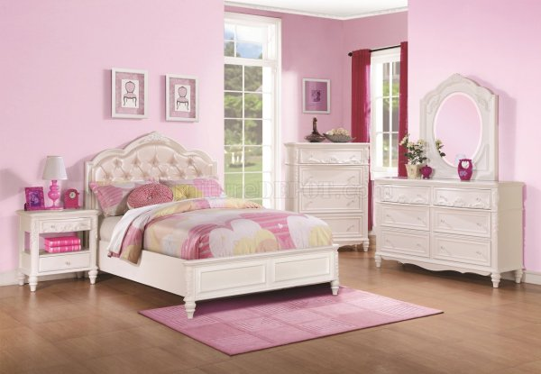 400720 Caroline Kids Bedroom In White Coaster Withoptions