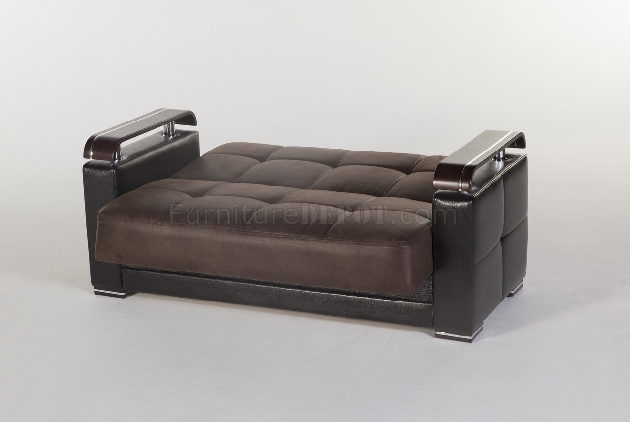 mexico futon sofa bed with mattress chocolate flexible ekol silverado by istikbal w options