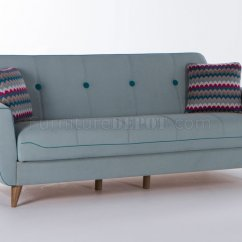 Light Sofa Bed Modern Designs 2018 Nora Zigana Blue In Fabric By Istikbal W