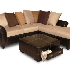 Microfiber Club Chair With Ottoman Turquoise Covers Multi Tone Combo Sectional Sofa W Optional