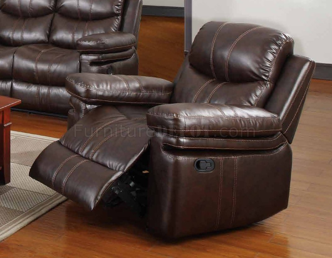 espresso bonded leather reclining sofa loveseat set ikea rp bed cover 7272 in w options