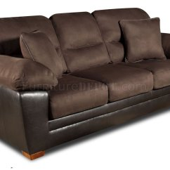 Microfiber Sofas Leather Recliner Sofa Reviews Brown Godiva And Loveseat Set W Accent Pillows