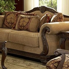 Burgundy Sofa And Loveseat Sofas Okc 5669 Lambeth By Homelegance In Chenille Fabric W/options