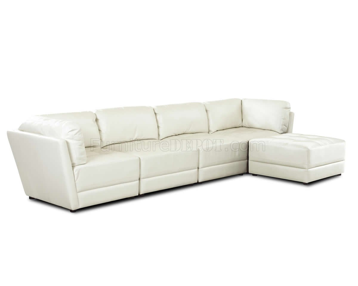comfortable contemporary sofa queen sleeper with storage white bonded leather sectional w