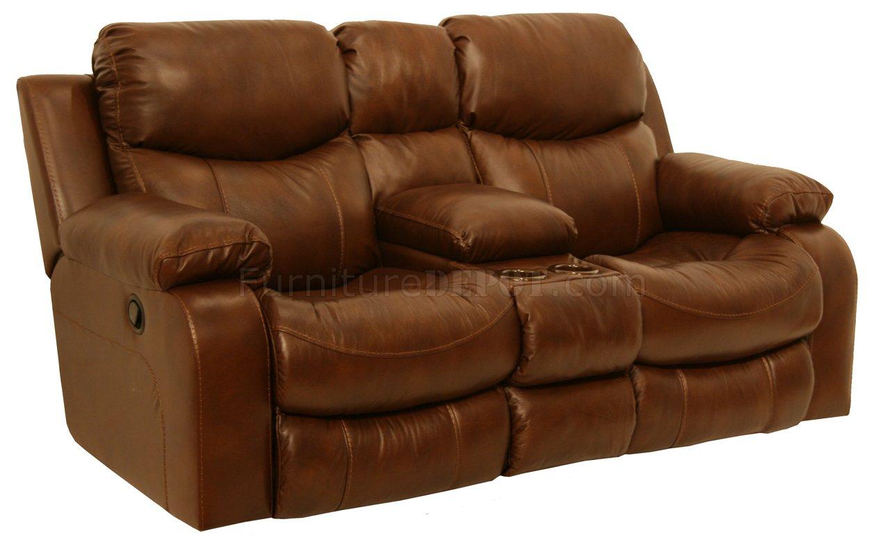 catnapper sofa karlstad corner cover uk tobacco top grain leather dallas motion w
