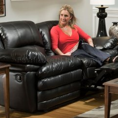 Bentley Leather Sofa Reviews Pictures Of Sofas With Throw Pillows Black Bonded Reclining And Loveseat Set