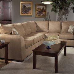 Sectional Microfiber Sofa Modern White Denim Sleeper Camel W Optional Items