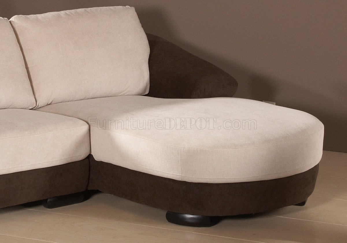 brown and beige sofa l shaped sets in bangalore two tone chenille fabric modern sectional