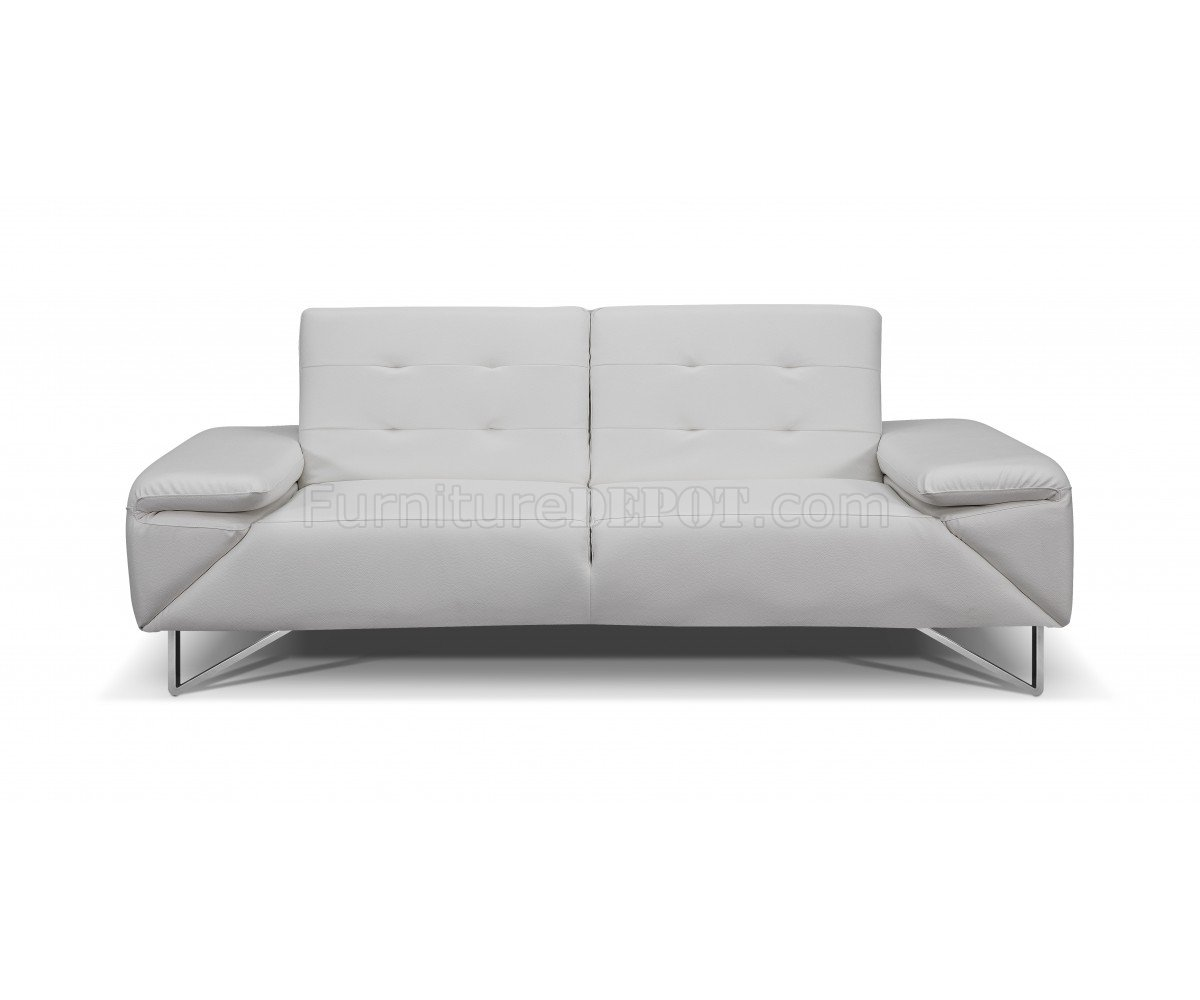 leather chairs of bath london country chair pads sofa bed in white faux by whiteline
