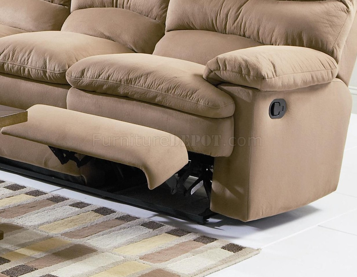 light brown leather reclining sofa decor to match microfiber modern