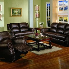 Dark Sofa In Small Living Room Crazy Water Sports Malta Chocolate Brown Bonded Leather W Recliners