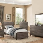Vestavia Bedroom Set 1936 In Dark Brown By Homelegance