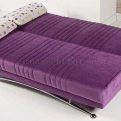 Purple Velvet Sleeper Sofa Powder Blue Fabric Bed Beds Beautiful Moden Minimalist Sofas