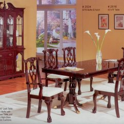 French Country Sofa Fabric Buy Set In Delhi Cherry Finish Classic Formal Dining Room Table W/options