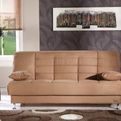 Brown Microfiber Sofa Bed How Do You Repair A Tear In Leather Vegas Rainbow By Istikbal