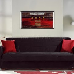 Sleeper Sofa Miami Fl Broyhill Perspectives Reviews Rainbow Storage In Black By Sunset