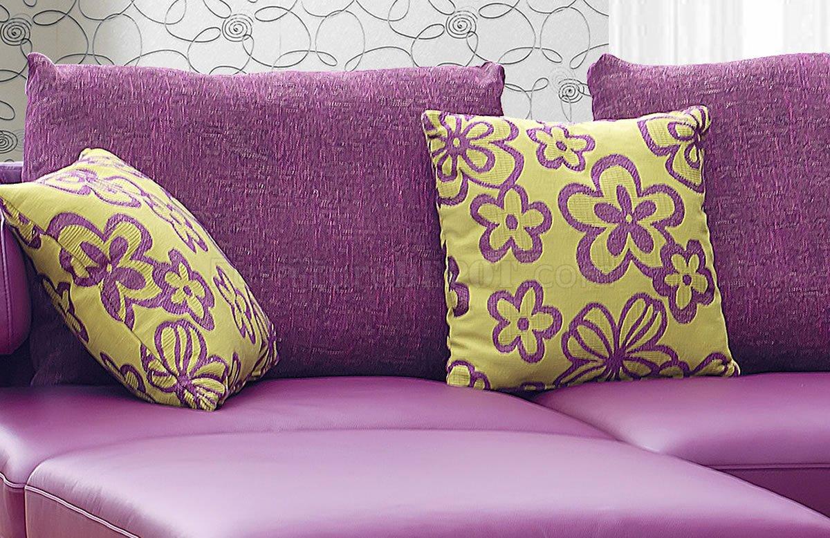 leatherette sofa durability bianca lounger purple genuine italian leather modern sectional w/shelves