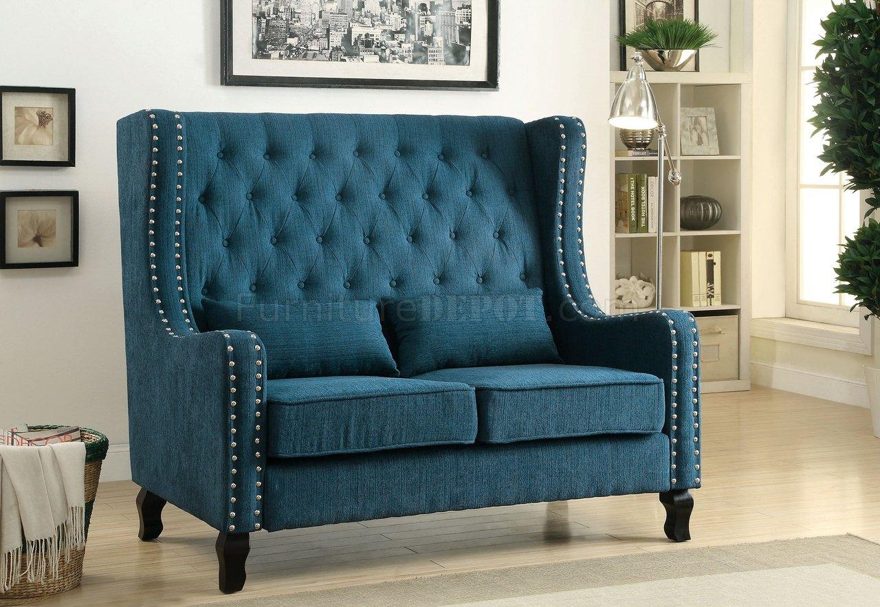 dark teal sofa black leather 2 seater recliner alicante cm bn6449tl loveseat bench in linen