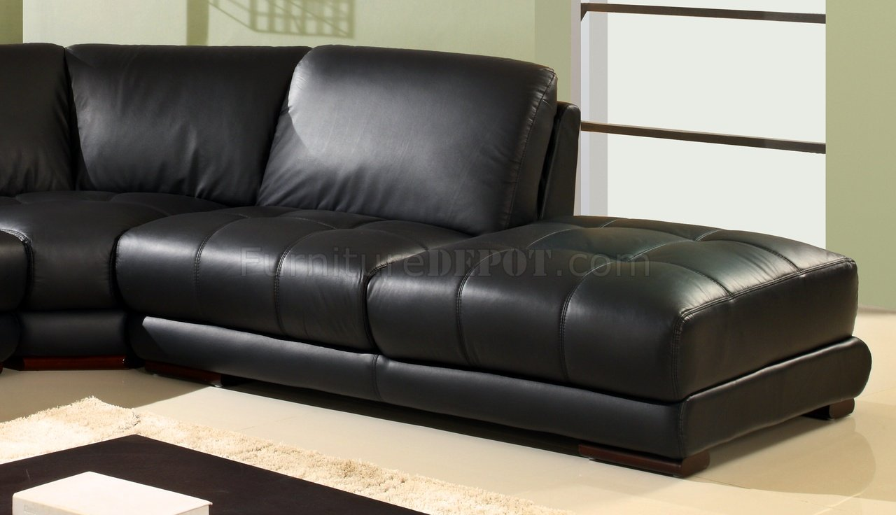 modern bonded leather sectional sofa with recliners decorating brown black w/wooden legs