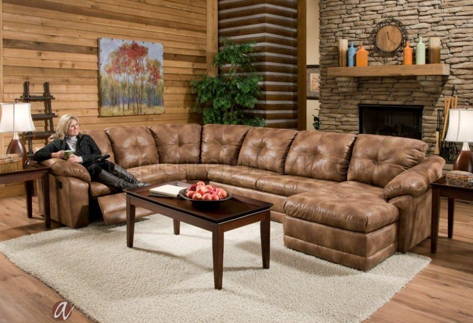 albany industries leather sofa seats in theatres 3182 reclining sectional almond leatherette by