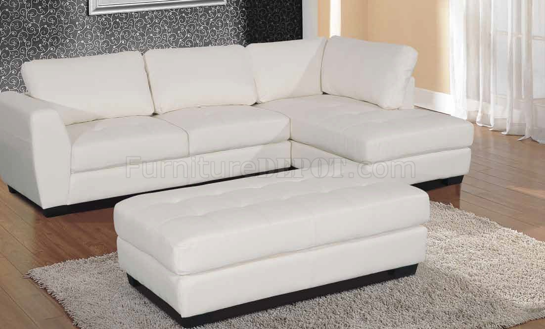modern bonded leather sectional sofa with recliners vine fabric opal in white match