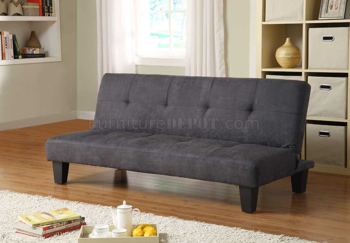 sofa bed lounger pune online albert 4806mbk by homelegance in black