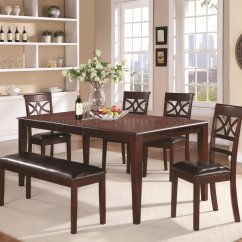 Dunham Reclining Sofa Sectional Sale 100641 5pc Dining Set In Cherry By Coaster W Options