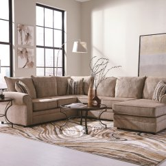 Pictures Of Sofas Small Sectional Sofa Grey Fairhaven 501149 In Cream Fabric By Coaster