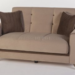 Light Sofa Bed Wingback Couch Fabio Plato Brown In Fabric By Sunset W Options