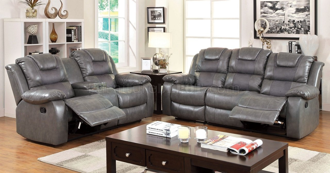 Leather Recliner Living Room Sets